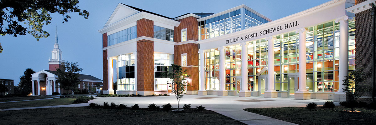Elliot and Rosel Schewel Hall at the University of Lynchburg