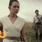 Photo from The Rise of Skywalker with Rey in the foreground