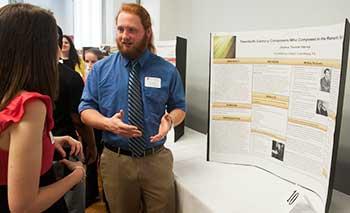 Student Scholar Showcase poster presentation