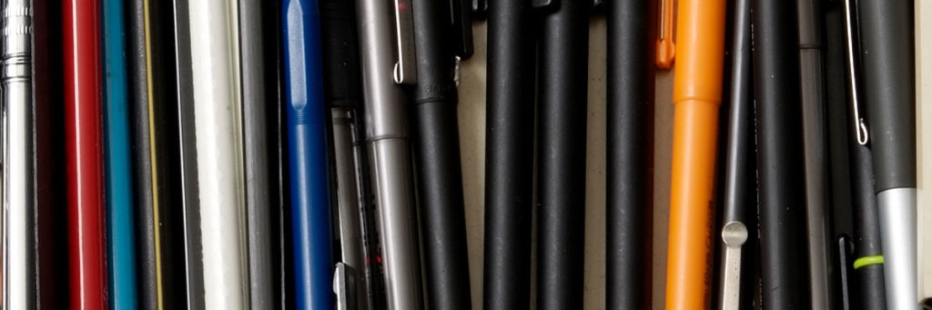 Collection of writing instruments