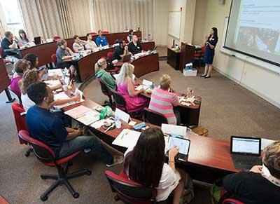 Center for Economic Education session