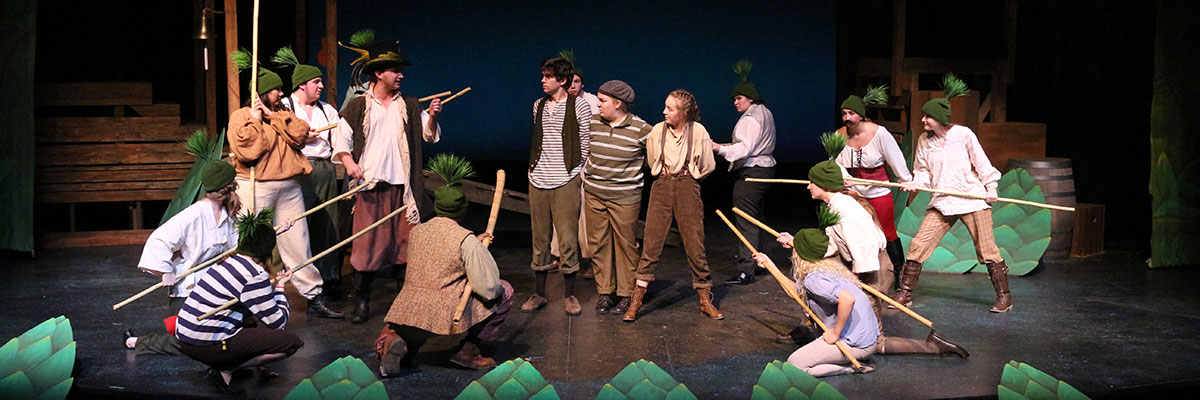 """A 2018 production of """"Peter and the Starcatcher."""""""