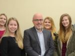 Ted Duvall with students
