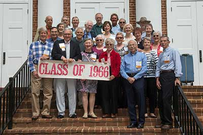 Class of 1966 reunion attendees