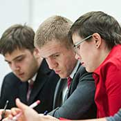 Students in Ethics Bowl