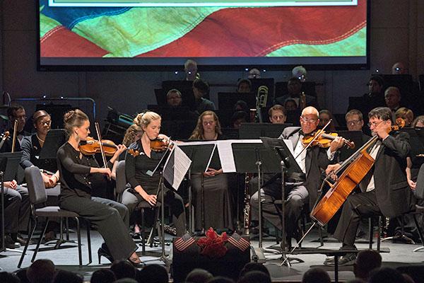 Fall music season begins by honoring Lynchburg's Scottish president