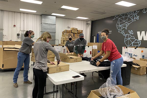 Lynchburg DPT participates in its first 'Global PT Day of Service'