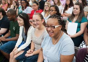 New Student Convocation @ Hopwood Lawn   Lynchburg   Virginia   United States